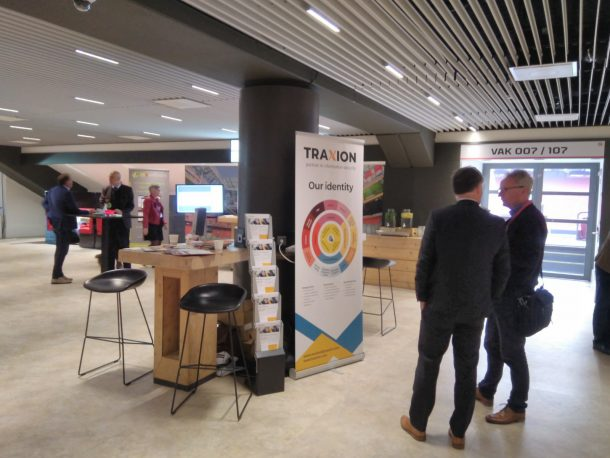 Traxion people at conference