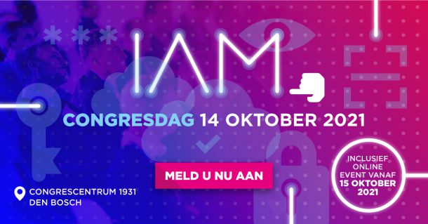 uitnodiging IAM congres 2021